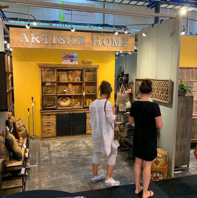 Artisan Home uit Meppel. Heerlijk bedrijf uit Meppel, onder bezielende leiding van Janke draaiden ze een goede beurs.