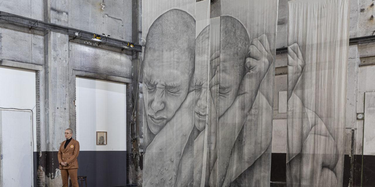 Big Art weer in industriële munitiefabriek