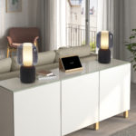 Vernieuwde lamp met geïntegreerde speaker
